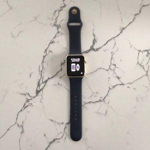 Apple Accessories - Apple Watch Series 1 42mm Gold Aluminum